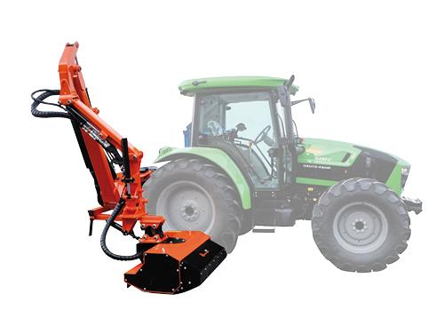 Professional range - Hedge-cutter with progressive head with maximum reach 5,50 m suitable for medium and big tractors